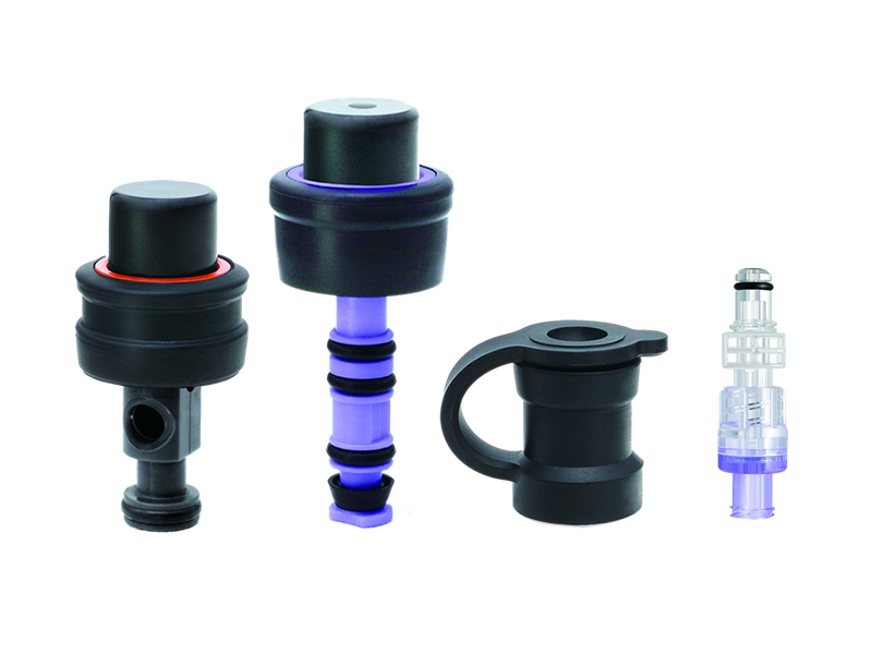 Single-use 3-Part Valve and Auxiliary Water Connector Kit  - Pentax Fitting
