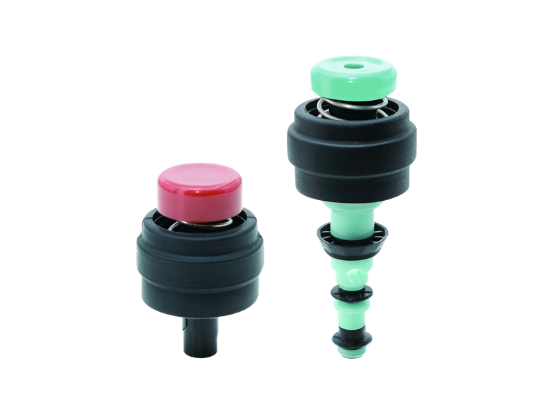 Single-use 2-Part Valve Kit - Olympus Fitting