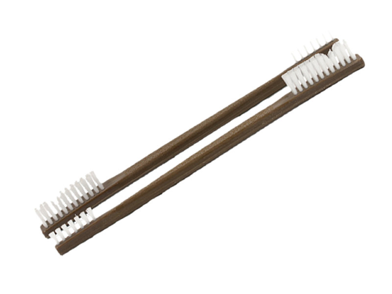 Single-use Double Ended Handled Cleaning Brush