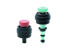 Single-use 2-Part Valve Kit - Olympus Fitting