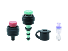 Single-use 3-Part Valve and Auxiliary Water Connector Kit - Olympus Fitting